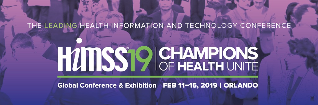 Join Newwave at HIMSS19 | Champions of Health Unite | February 11-15, 2019 | Orlando